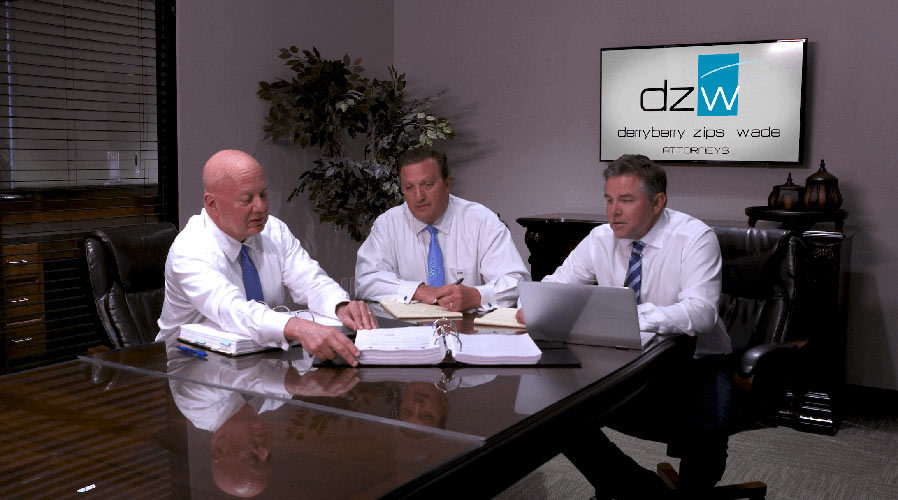 Team of lawyers from lawyers office DZWLAW from Tyler TX